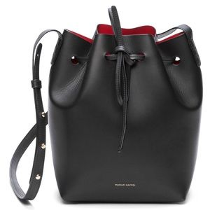 Mansur Gavriel Black Calf Bucket Bag